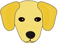 Puppy Image for SmallYellowDog Logo