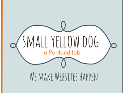 Business Card Template - Small Yellow Dog branding design business cards
