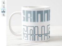 Grinnell Mug mug design merchandise design product design branding graphic design