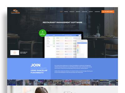Restaurant Homepage