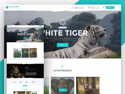 Environment - homepage