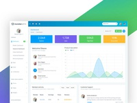 Monster admin Template