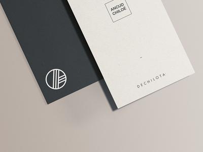 Label for dechilota, Ancúd Chiloé.
