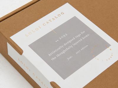 catalog packaging label