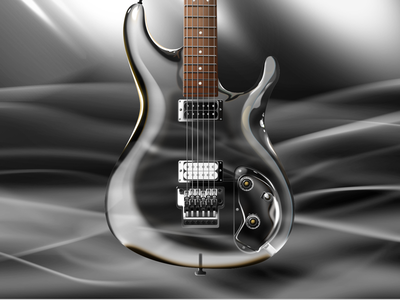 Ibenaz Crystal using sketch sketch rock guitar