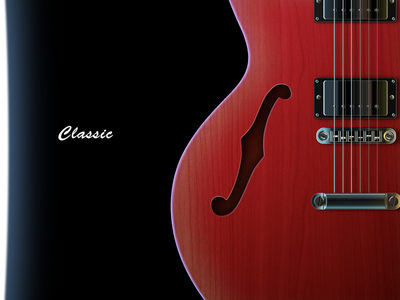 Beautiful guitar using sketch gibson sketch rock guitar