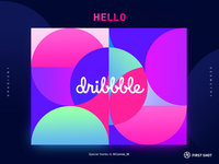 First Shot hello dribbble