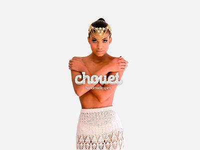 Chouet - Creating a fashion brand with handmade spirit logo design logo branding