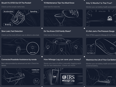 Illustrations for zendesk app ui illustration