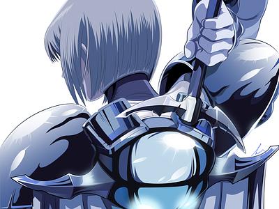 Claymore anime illustration