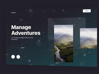 Travel Website - Exploration