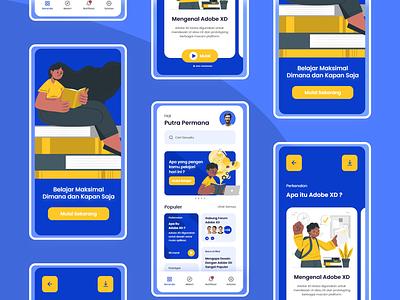 Smart Educate Mobile Apps Design app ux ui