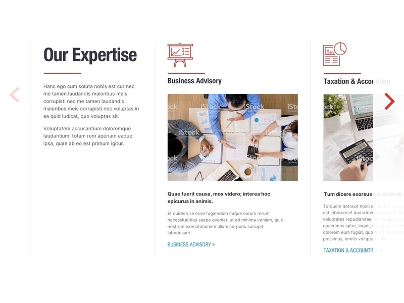 Slider - Expertise web illustration