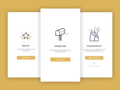 Envoged App Illustrations