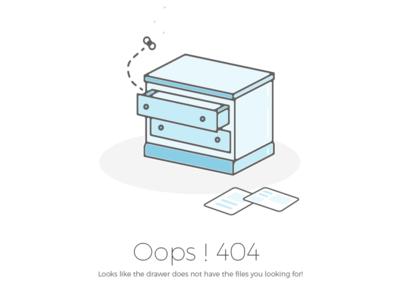 Oops! Error 404