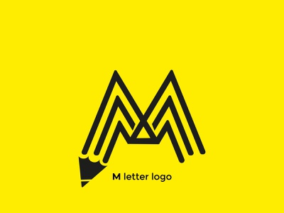 M type logo design.  Here is a new logo concept for a Business