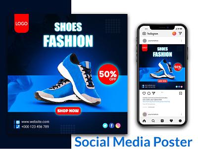 Social media poster /banner design banner branding ads poster social media banner