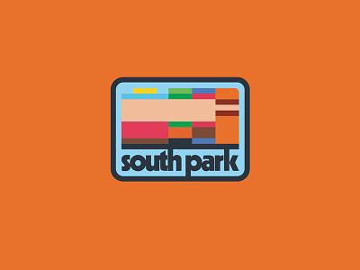 South Park Badge adventure patagonia colorado cartoon illustration icon ddc draplin south park patch stamp badge