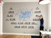 Nextview NYC Wall Mural