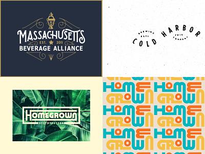 2018 branding beer sketch logo lettering identity massachusetts typography boston illustration