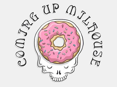 Stupid Flanders donut beer fun typography massachusetts boston illustration grateful dead gratefuldead simpsons