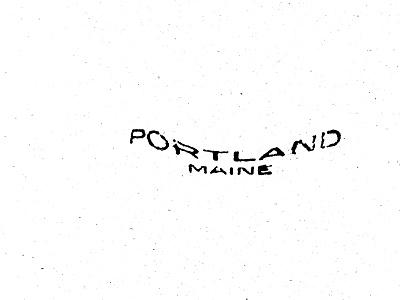 Home design lettering sketch beer typography maine portland massachusetts boston