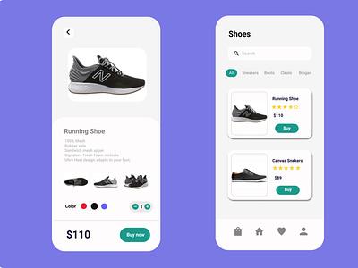 E-commerce app checkout daily-ui dailyui design shoes shopping application app android ux ui shop e-commerce