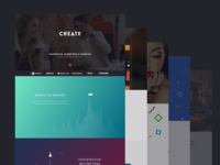 Create's new site