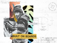 Built on Boards Collage Exploration