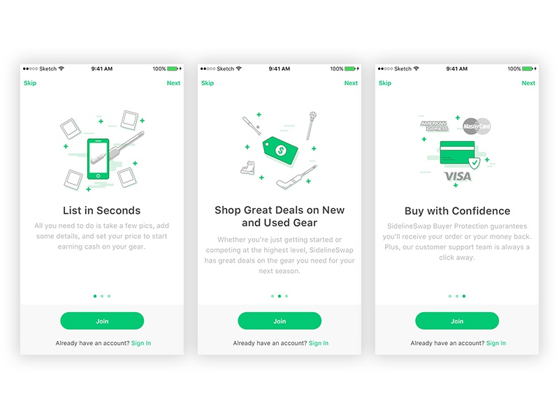 How It Works - iOS by Pin-Bo Tsai | Dribbble | Dribbble