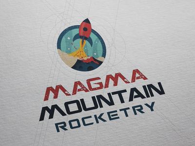Magma Mountain Rocketry Logo Design
