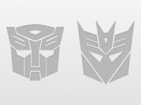 Autobot & Decepticon Icons