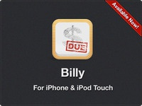 Introducing my new app, Billy
