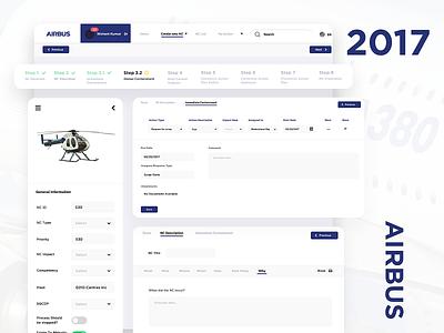 Airline web design ui dashboard ui ui design airbus web design intranet