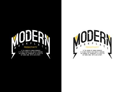 Wall Design: Modern Workplace