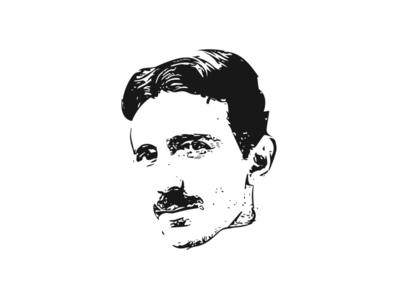 Illustration Nikola tesla