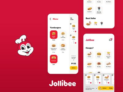 Jollibee Delivery UI - Concept