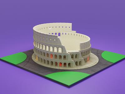 Templar Roma 3d model graphic design 3d animation