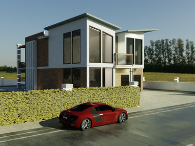 House modern 3d ui illustration design vector branding logo graphic design animation 3d motion graphics