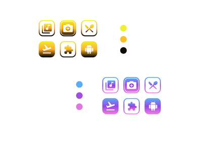 Customized App Icons logo icon ux typography illustration ui design app