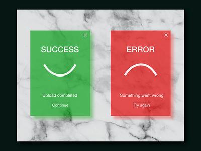 Flash messages icon typography app ux illustration ui design