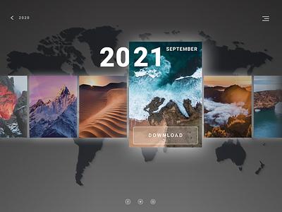 Collection app ui design