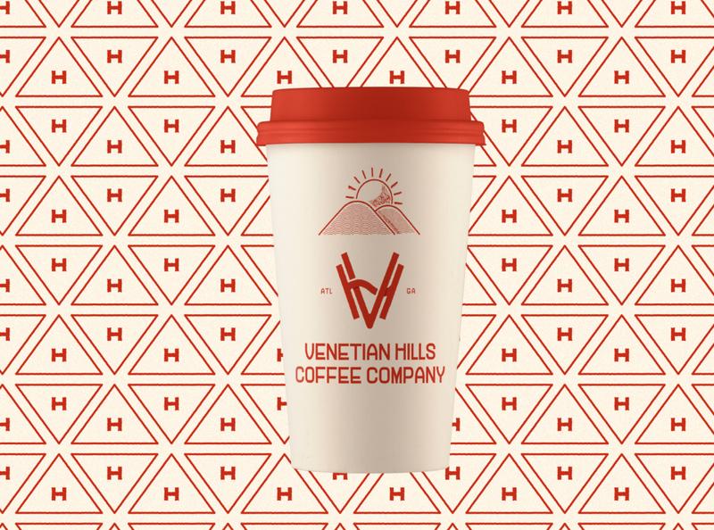 SW.ATL.GA  (WIP) pattern lockup logo neighborhood coffee branding atlanta swatl swatlga