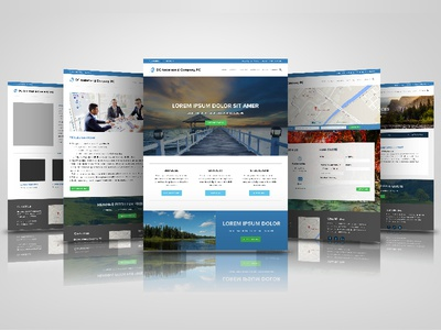 Website Design for Accountant & Firm graphic design web design website accounting accountant