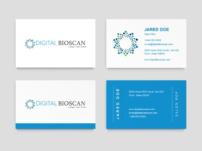 Business Card Design Medical S Rep