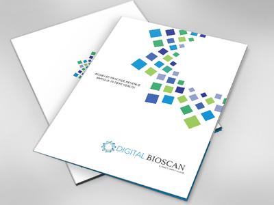 Folder Design for Medical Company graphic design print design folder