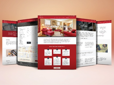 Web Design for Property Management Company real estate property management web design