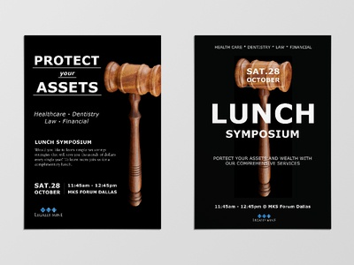 Flyer Designs for Lunch Symposium Event