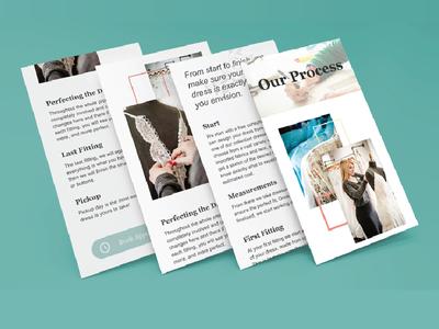 Wedding Designer Process Mobile Page mobile design wedding designer wedding mobile
