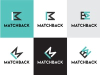 MatchBack Logo Design Variations